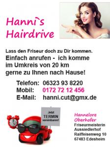 Hanni's Hairdrive
